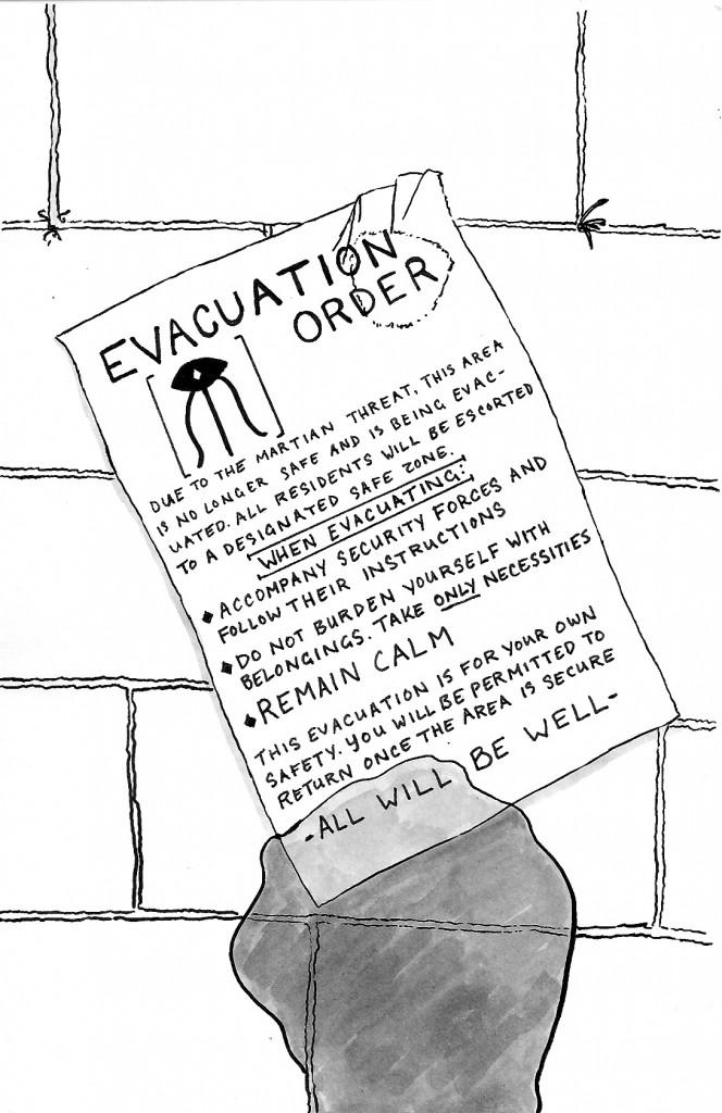 evacuation copy
