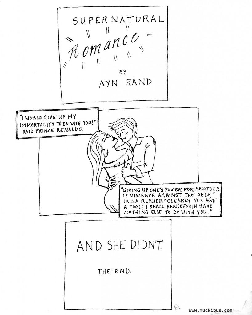 ayn rand romance